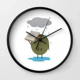 Olive the Lonely People Wall Clock