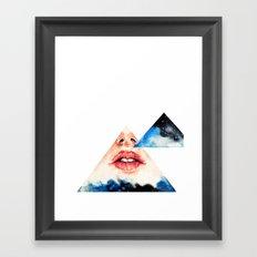 Lipss Framed Art Print