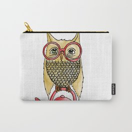 Owl Start the Kettle Carry-All Pouch