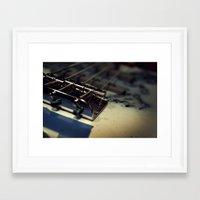 bass Framed Art Prints featuring Bass by Michael Larkin