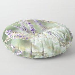 Lavandula Angustifolia (Lavender) Floor Pillow