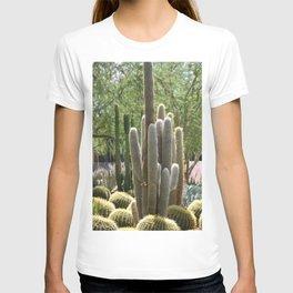 Cactus Garden at Sunnyland Estates in Rancho Mirage T-shirt