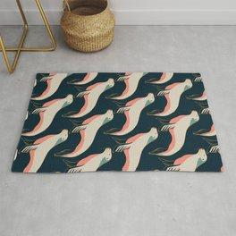 Fur seal, sea lion pattern Rug