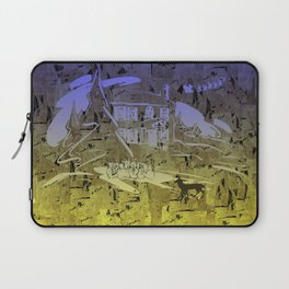Little Chistmas Snow family Laptop Sleeve