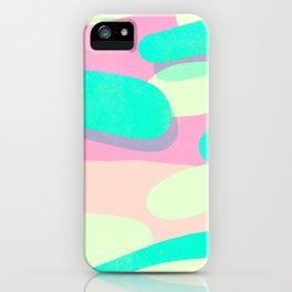 jelly / pink & aquamarine iPhone Case