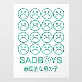 SadBoys Art Print