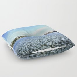 The Lakes Floor Pillow