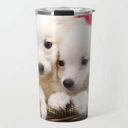 Puppies from the North Pole Travel Mug