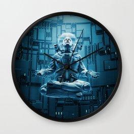 Astro Lotus Wall Clock
