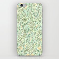 Green and Yellow Leaves iPhone & iPod Skin