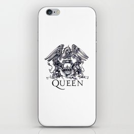 Queen Band logo iPhone Skin