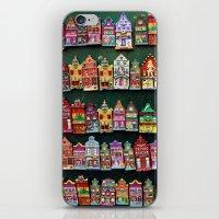 amsterdam iPhone & iPod Skins featuring Amsterdam by Joke Vermeer
