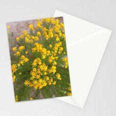 Yellow Wild Flowers Stationery Cards