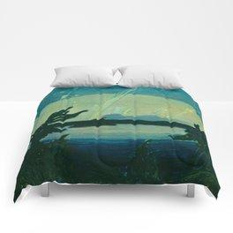 J.E.H. MacDonald Aurora, Georgian Bay, 1931, Canadian Art Comforters