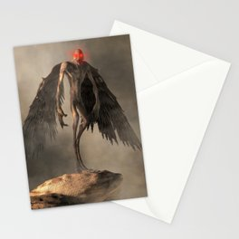 The Mothman Stationery Cards