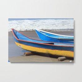 Two Fishing Boats Metal Print