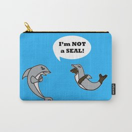 I'm Not A Seal! Carry-All Pouch