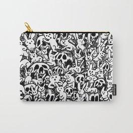 Bunnies & Skulls Carry-All Pouch