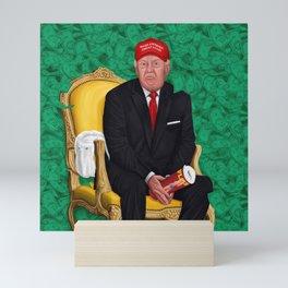The Golden Fool Mini Art Print