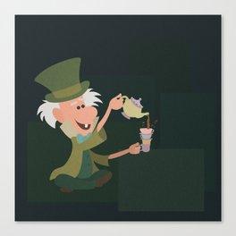 Mad Tea Party Canvas Print