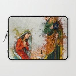Jesus Is Born Laptop Sleeve
