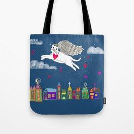 Kitty Angel Tote Bag