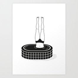 l'optimist Art Print