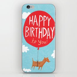 Birthday Balloon iPhone Skin
