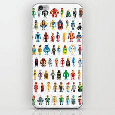 Pixel Heroes iPhone & iPod Skin