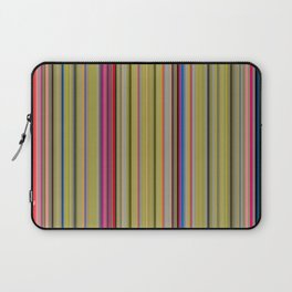 Colorful Stripes Barcode 1 Laptop Sleeve