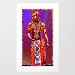 Mrembo Art Print