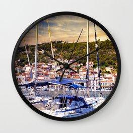 GYTHIO GREECE Wall Clock