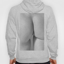 Imperfect Symmetry in a woman body Hoody