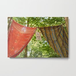 France - festival vibe - good vibes - photography in nature Metal Print