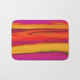 Tropical Beach Sunset Paradise Bath Mat