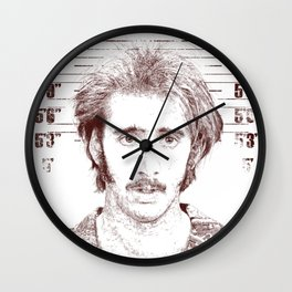 H.I. McDunnough - Raising Arizona Wall Clock