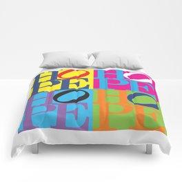 H.O.P.E. Pop Art Comforters