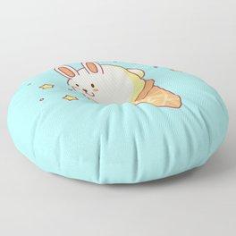 Bunny-lla Ice Cream Floor Pillow