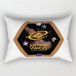 James Webb Space Telescope: The NASA Logo Rectangular Pillow