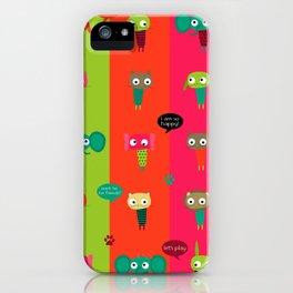 Little friends iPhone Case