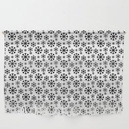 Black Snow Wall Hanging