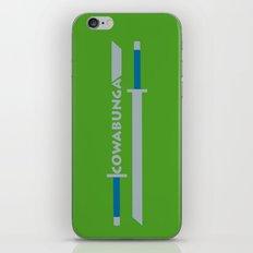 Cowabunga (Leonardo Version) iPhone & iPod Skin