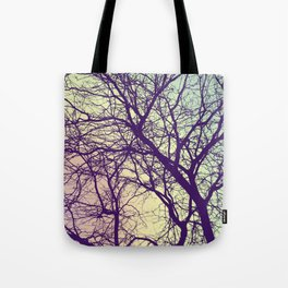 A Network of Tree Branches Tote Bag