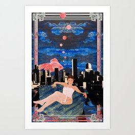 Denber Lady ver.2 Art Print