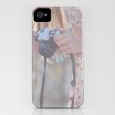 Girl iPhone (4, 4s) Slim Case
