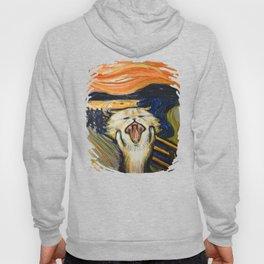 The Scream: Cat version Hoody