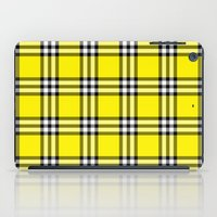 clueless iPad Cases featuring As If Plaid by Kat Mun