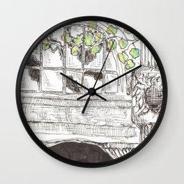 city detail Wall Clock