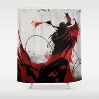 spawn Shower Curtains featuring Spawn by Scofield Designs