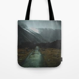 Hiking Around the Mountains & Valleys of New Zealand Tote Bag